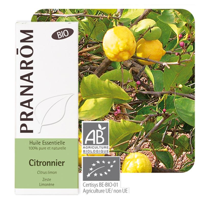 Huile essentielle Citron zeste Bio