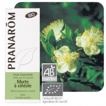 Huile essentielle Myrte verte ou à cinéole Bio