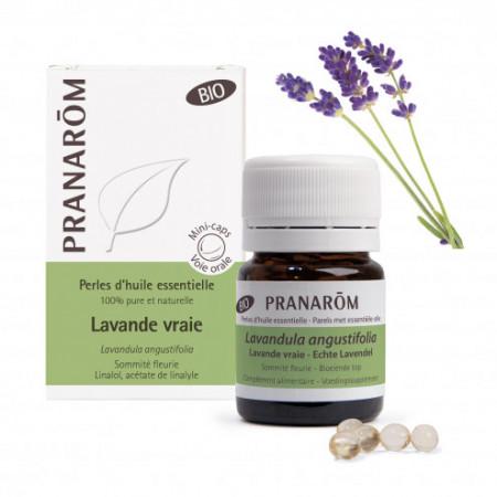 Perles d'huile essentielle Lavande vraie Bio