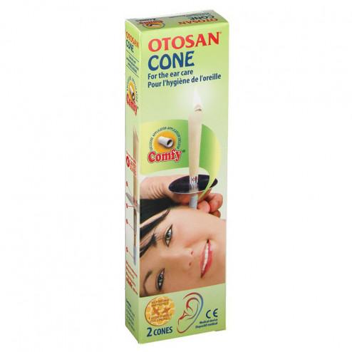 Bougies auriculaires Otosan - Cônes pour l'hygiène de l'oreille