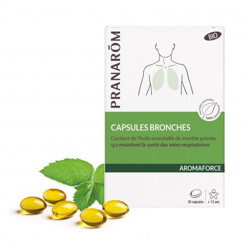 Aromaforce Capsules bronches bio