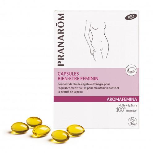 Capsules bien-être feminin Aromafemina