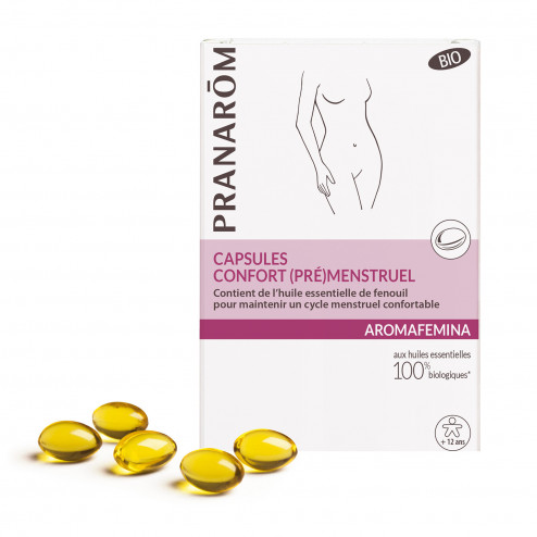 Capsules confort (pré)menstruel Aromafemina