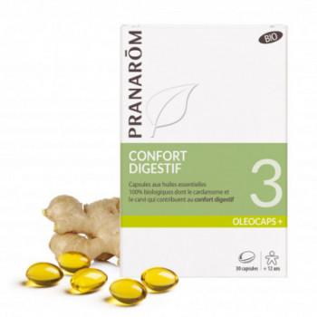 Capsules Oléocaps + 3 Confort digestif