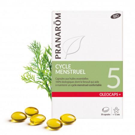 Capsules Oléocaps + 5 Cycle menstruel