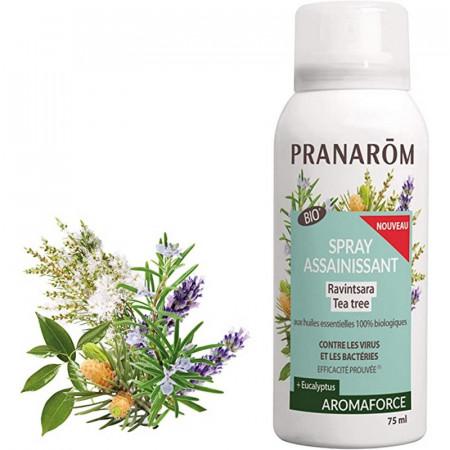 Aromaforce Spray Assainissant Ravintsara Tea Tree BIO