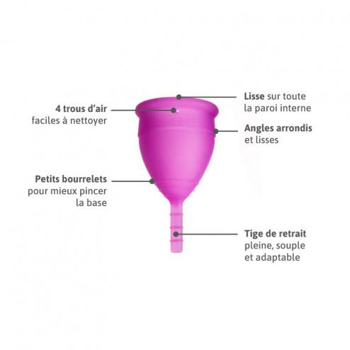 Lunacopine violette taille 2
