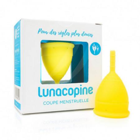 Lunacopine cup menstruelle jaune petite taille