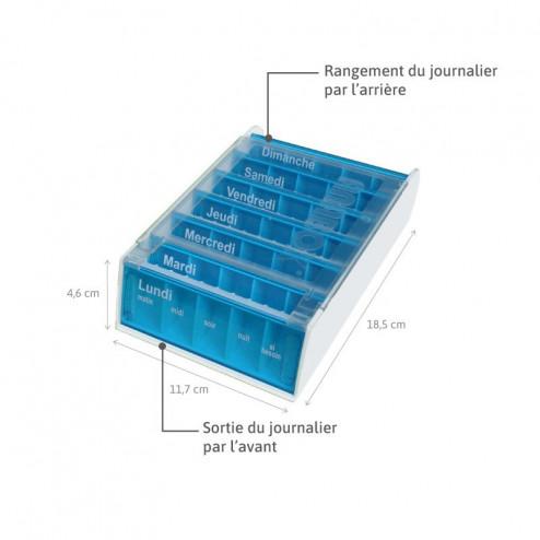 Pilulier Anabox hebdomadaire 7J Croisière