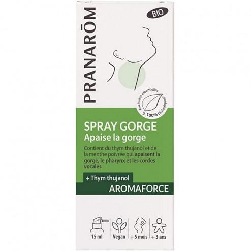 Aromaforce spray gorge bio