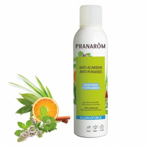 Allergoforce Spray Anti acariens, punaises et tiques Pranarom