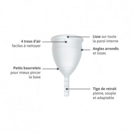 Lunacopine transparente taille 1