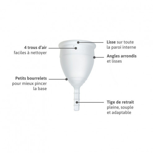 Lunacopine transparente taille 2