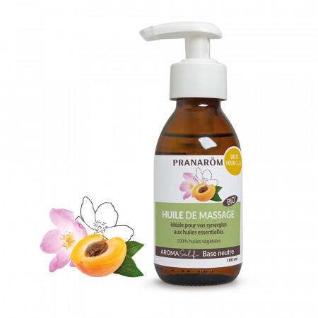 Huile de massage base neutre - Bio - Aromaself - Pranarôm