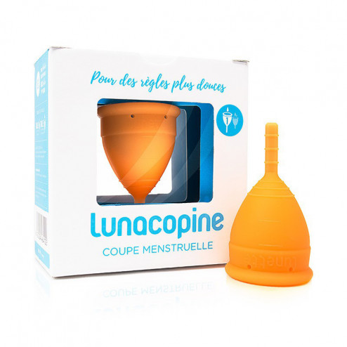 Lunacopine orange boîte taille 1