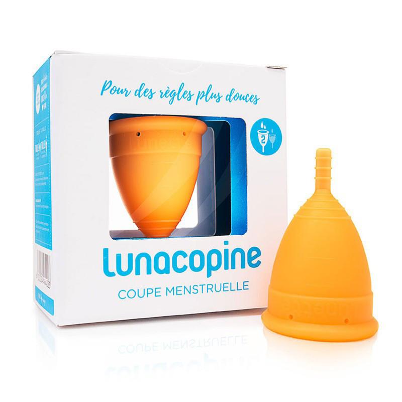 Lunacopine cup menstruelle orange grande taille
