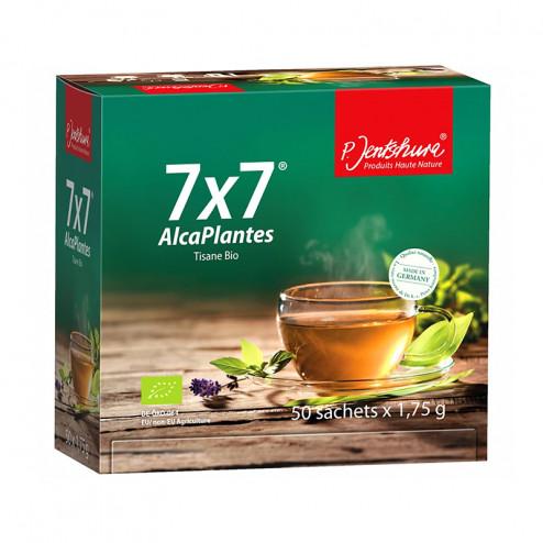 Tisane Bio 7x7 AlcaPlantes - 49 plantes pour un équilibre naturel