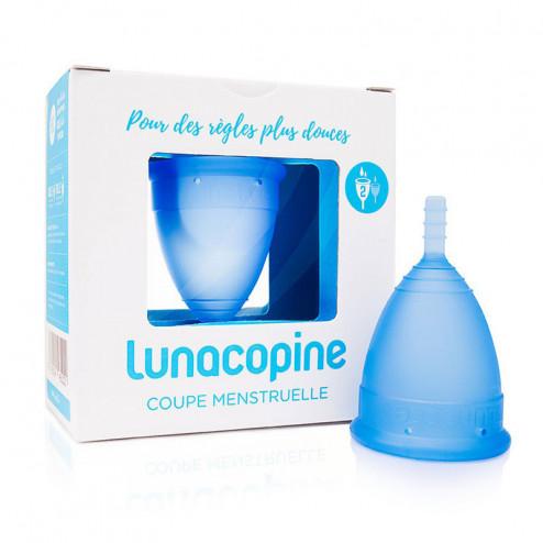 Lunacopine cup menstruelle bleue grande taille