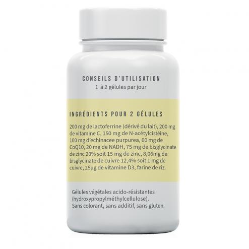 Ingrédients du complément alimentaire Septiferrine