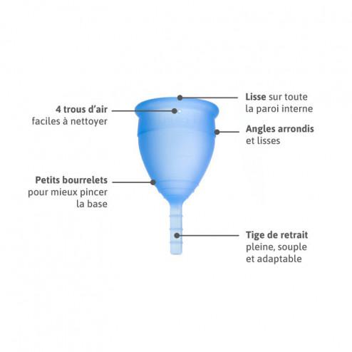 Lunacopine bleue taille 2