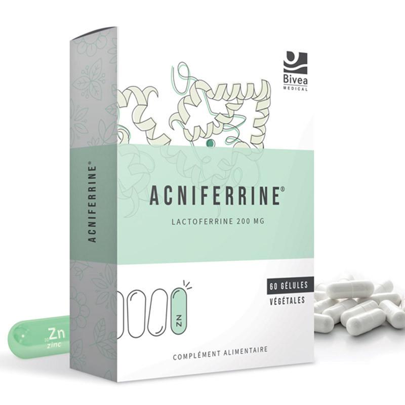 Acniferrine complément alimentaire de Bivea Médical à base de lactoferrine