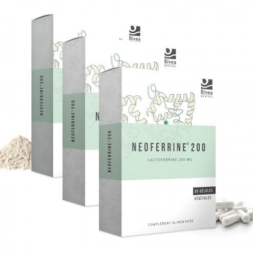 Lot de 3 boites de Neoferrine complément alimentaire de Bivea Médical
