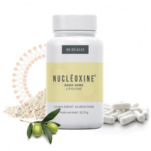 Nucléoxine NADH liposomé 80mg complément alimentaire