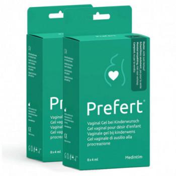 Lot de 2 gel intime lubrifiant Prefert