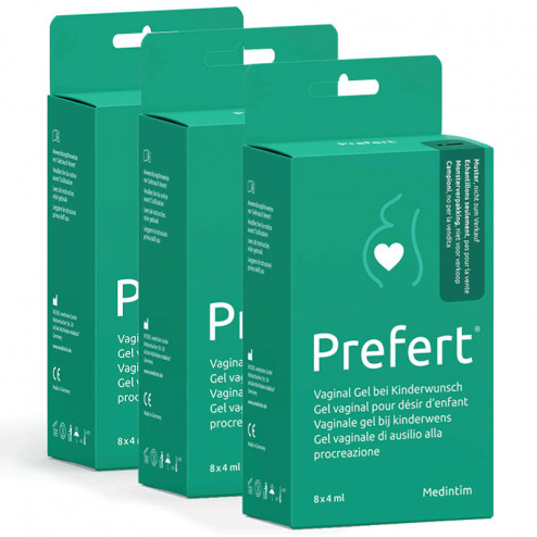 Lot de 3 Lubrifiants fertilité Prefert