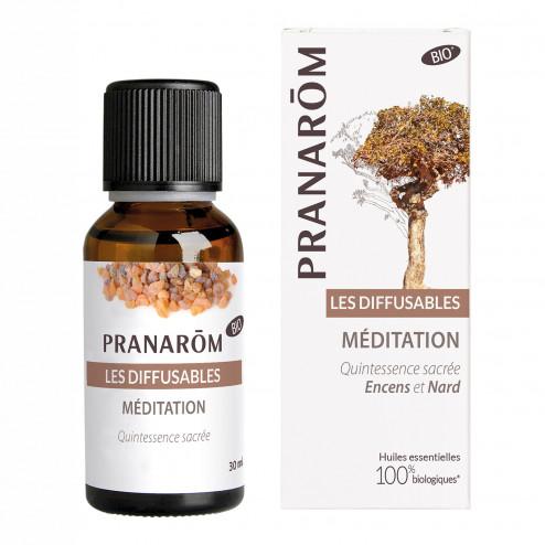 Huile diffuseur Méditation bio