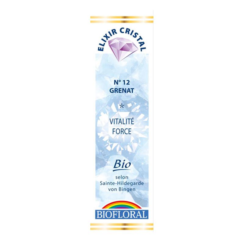 Elixir Cristal Grenat vitalité n°12