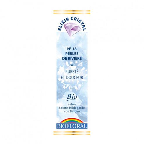 Elixir Cristal Perles de rivière pureté et douceur n°18