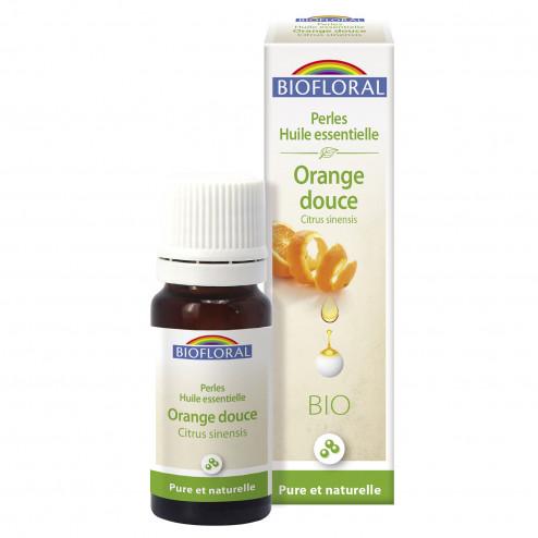 Perles d'huile essentielle Orange