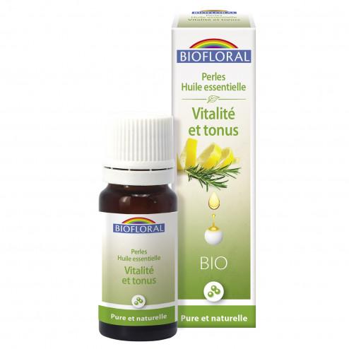 Perles d'huiles essentielles Vitalité et Tonus