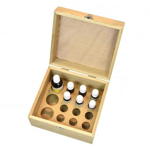Aromathèque Découverte Deluxe - La base des huiles essentielles Bio